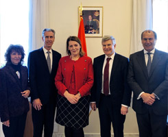 Le Consulat Honoraire de Croatie participe à l'Entretien de Courtoisie entre l'Ambassadeur de Croati