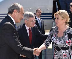 Visite de la Présidente de la République de Croatie
